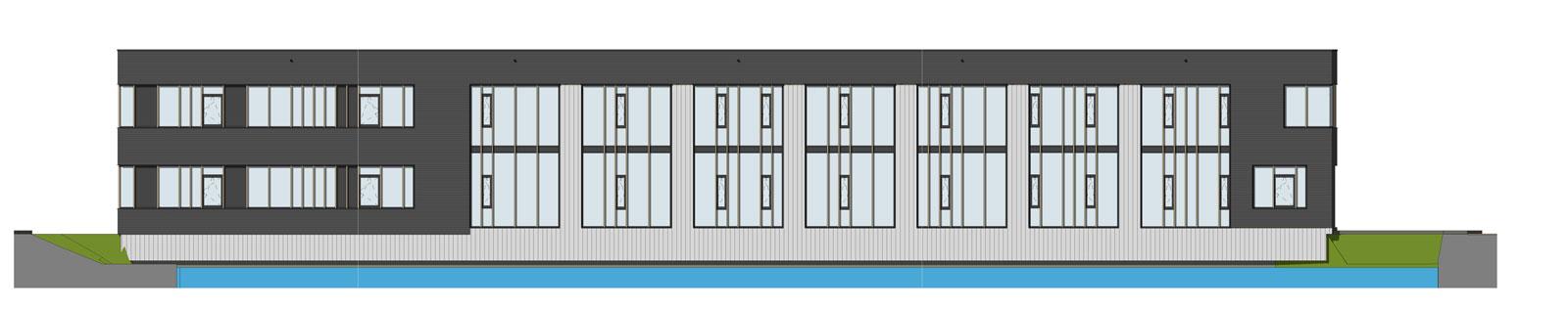 Houten Kantoor_Gevel1_m-architects